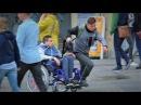 Кража у инвалида / социальный эксперимент