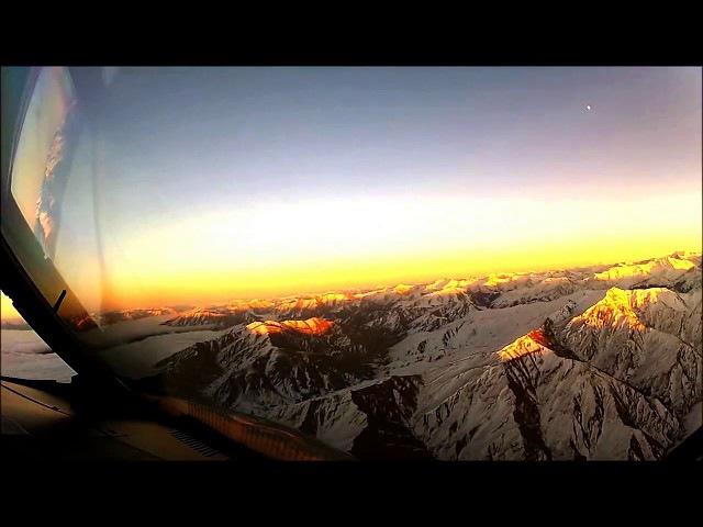Видео из кабины пилота которое не должны были видеть пассажиры