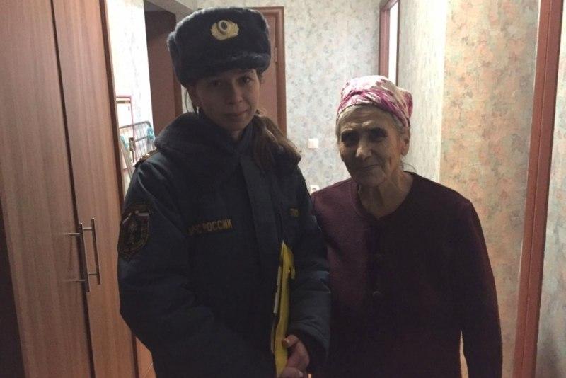 В г. Волжске гражданам разъяснили правила пожарной безопасности