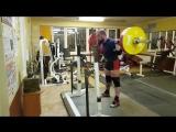 Алексей Никулин - присед 245 кг на 3 с паузой