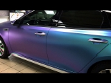Kia Optima GT-line - хамелеон лаванда