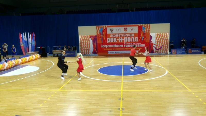 Гаврилов Алексей-Гаврилова Светлана и Матвеев Антон-Громова Екатерина (Полуфинал))