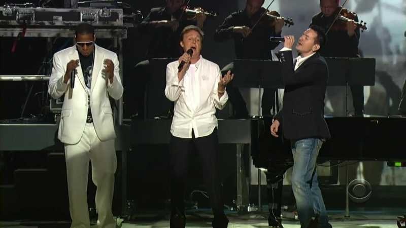 Linkin Park Jay Z and Paul McCartney Numb Encore Yesterday Live