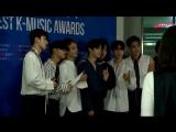 170922 EXO @ Soba Best K-Music Awards Backstage