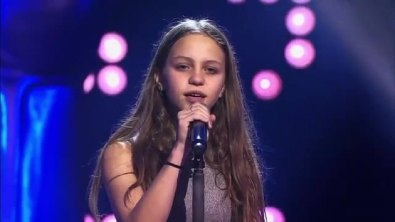 Voice Kids - 12-Year Old Resa Sings Metallicas Nothing Else Matters - Breathtak