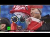 Корреспондент RT пообщался с болельщиками перед хоккейным матчем Россия — США в Пхёнчхане