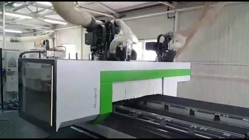 Уникальный высокопроизводительный фрезерный ЧПУ центр