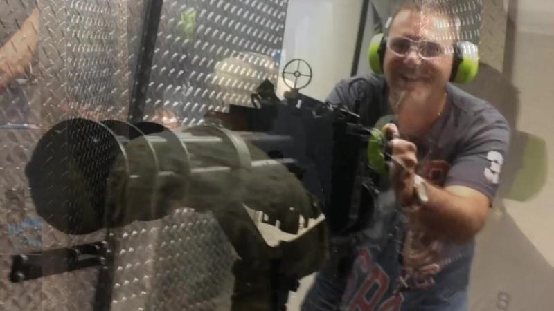 Стрельба из различного огнестрельного оружия (<<Поле Боя - Las Vegas>>)