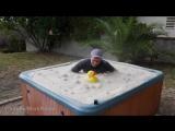 Горячая ванная с песка