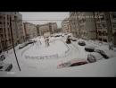 Чистка снега 23 января 2018 год