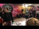 MTI Battle 2018 Hip Hop PRO 2x2 Андрей и Макс vs Аня и Кира