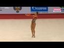 Дина Аверина мяч квалификация Гран-При Москва 2018