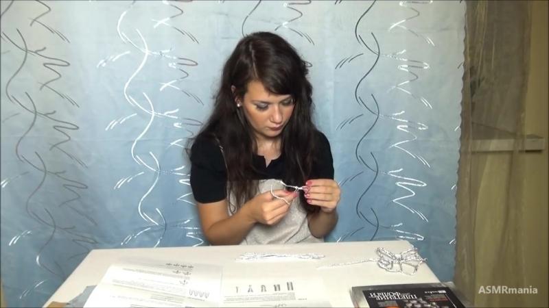 [ASMRmania] ASMR/АСМР: Релаксация. Поделки из фольги. (Relaxation. Girl whisper. Soft spoken. Handmade of foil.)
