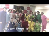2017 THE ICE in Nagoya - Happy birthday to Kaitlyn Weaver`s mum from the cast ka2sh
