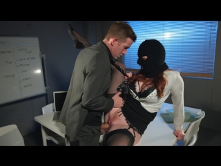 Zara DuRose (Corporate Espionage)[2018, Big Tits, Business Woman, Euro, Redhead, Skirt, Work Fantasies, HD 1080p]