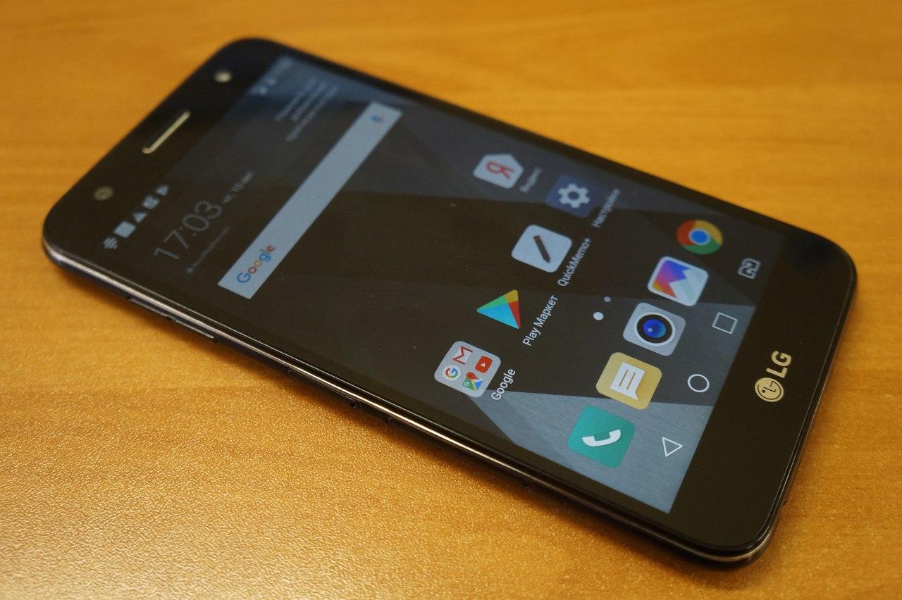 LG X Power 2 - телефон с большим зарядом