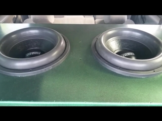 2 Sundown X15 ( bass , db , spl , sound , low , flex , alphard , чв, гц , audio )