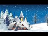 Футаж Зима, новогоднее поздравление.