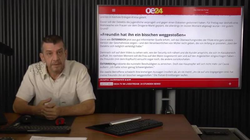 18-11-2017 Tagesschlau Aktuell Drogerie-Prügelei- War alles ganz anders- Kanal Info