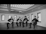 Barrios Guitar Quartet-Die Moritat von Mackie Messer _ Kurt Weill - Mack the knife