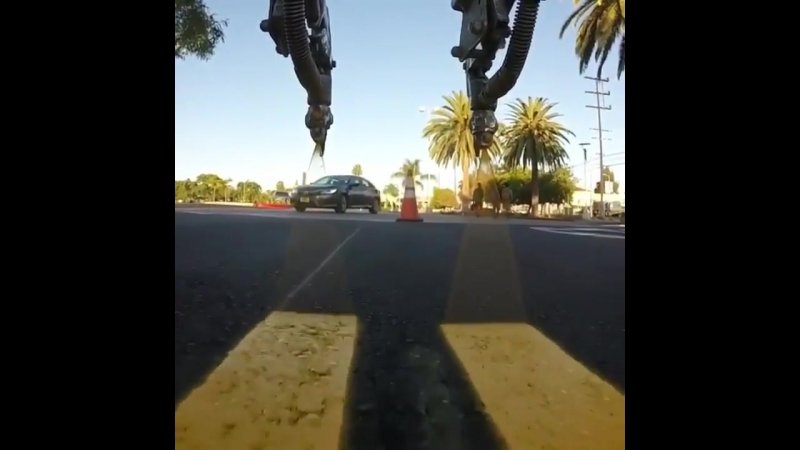Painting some double yellow lines