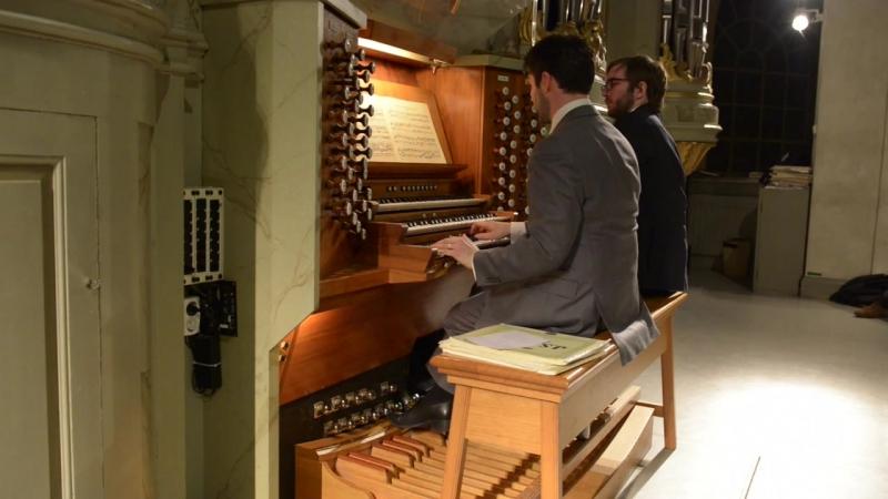 698 J. S. Bach - Chorale prelude Herr Christ, der ein'ge Gottes Sohn (Fughetta; Kirnb. coll. No. 9) BWV 698 - Ulf Norberg