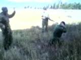Выстрел из СВД в голову чеченскому боевику