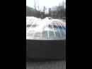 Пьяная девушка и фонтан вокзал Ногинск