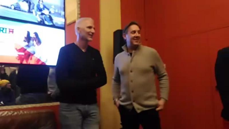 Итальянский режиссер Джорджо Амато / Giorgio Amato / на встрече со зрителями фильма О мой Бог! /Oh mio Dio! /