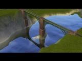 Обзорный полёт по новой карте в The Sims 2