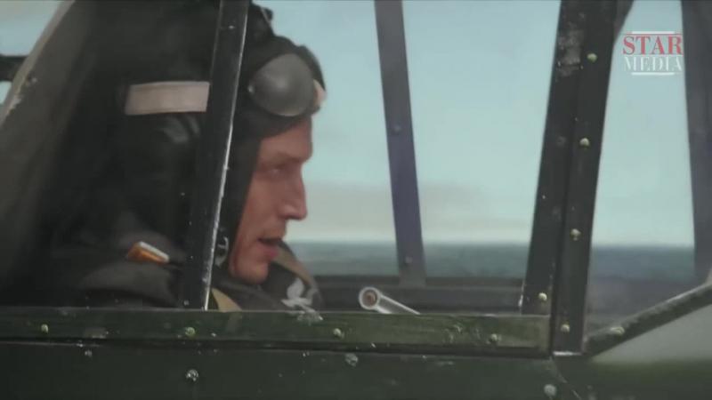 Небо в огне 2010 3 серия сцена полета с участием Дмитрия Фрида
