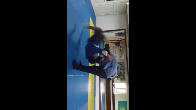 тренировка Бахытжан