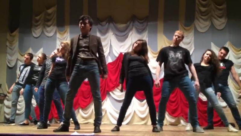 Танец вожатых -