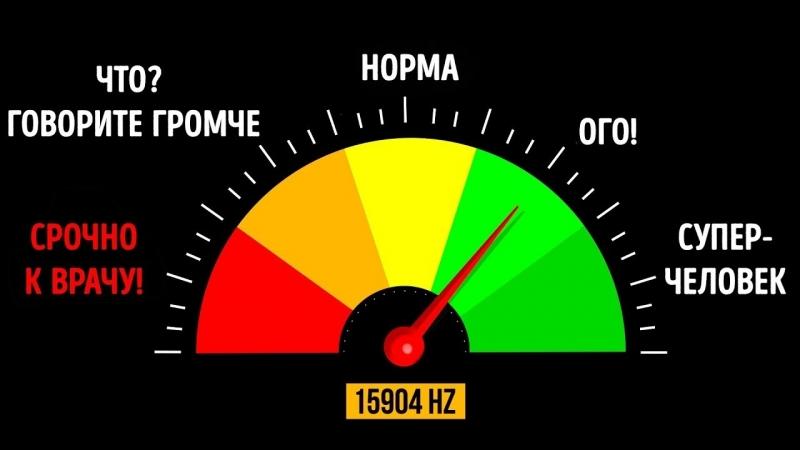 [AdMe.ru - Сайт о творчестве] Тест на Самый Острый Слух в Мире