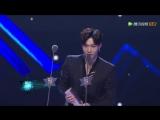 171203 EXO LAY ZHANG YIXING 张艺兴 — Tencent Video Star Award  ALBUM OF THE YEAR