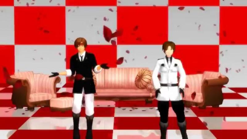 【APH MMD】Romano ft. Veneciano - KiLLER LADY (Italy Brothers) (♥ω♥ )