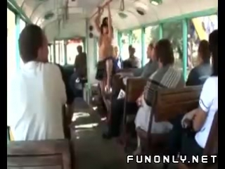 Naked_in_public_transport_candid_camera_video_Funny_videos_Fun_only