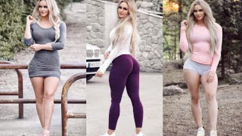 Harika Fizik Sağlam Egzersiz - ANNA NYSTROM | Fitness Motivasyon