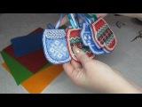 МК Елочные игрушки - мой способ изготовления