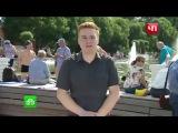 ВДВэшник ударил журналиста, полная версия что осталось за кадром и не вошло в эф ...