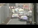 Массовый завал на первом круге гонки FIA GT в Макао