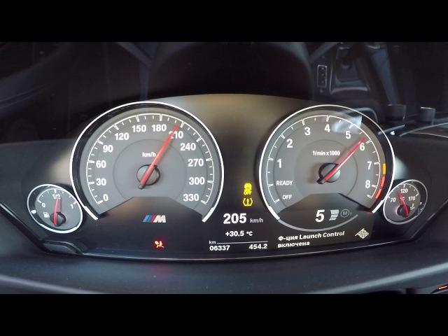 BMW M4 F82 K8-Strasse Stage 3 - 1/4 mile(0-200 km/h) acceleration