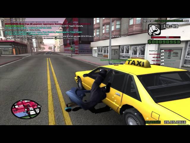 сампер гангстер использует секретные тактики чтобы добежать до аммо
