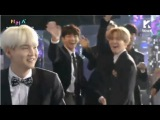 BTS SUGA & SURAN Win Hot Trend Award @ Melon Music Awards 2017 171202
