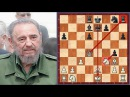 A Game Of Chess Played By Legendary Fidel Castro