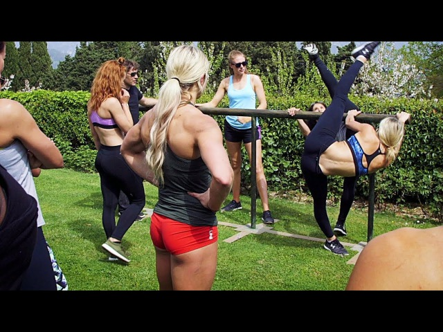 The Amazons Workout WONDER WOMAN Behind The Scenes [Subtitles]