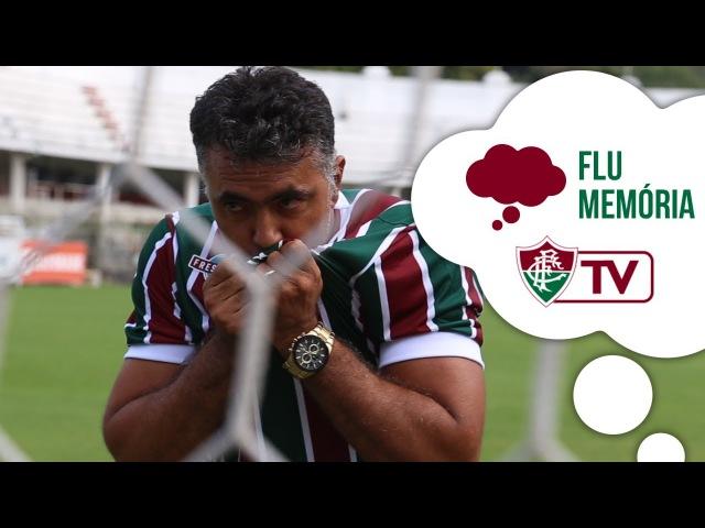 FluTV - Adriano Magrão revela seu amor ao Tricolor e relembra sua passagem pelo Fluminense