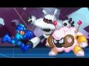 Megaman 9 and 10 in 32-bit (Galaxy Man and Sheep Man Boss Battles)