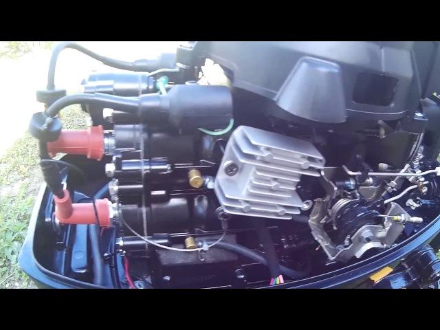 Зарядка аккумулятора от лодочного мотора Yamaha 9.9 Hidea 9.9 НDХ 9.9.