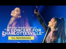 Ariana Grande live at A Concert For Charlottesville (FULL Performance)